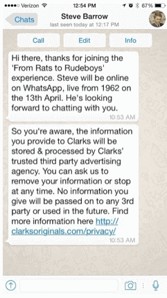 clarks-whatsapp-marketing