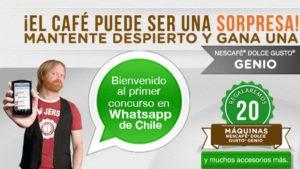 Nescafé Dolce Gusto WhatsApp