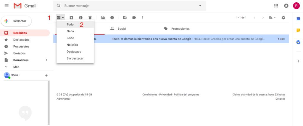 borrar-correos-gmail